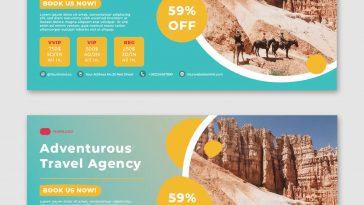 Adventure Facebook ads template