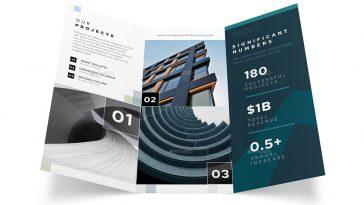 Architecture Service Tri-Fold Brochure Template