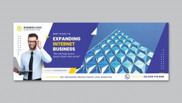 Corporate business Facebook cover design