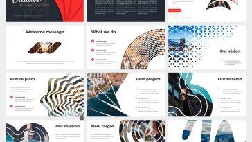 Creative Business Plan PowerPoint Template