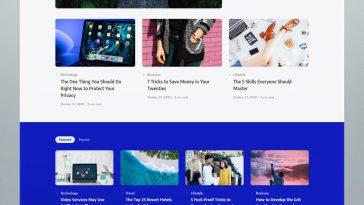 Creative Blog and Magazine WordPress Theme
