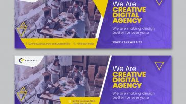 Digital agency Facebook cover design