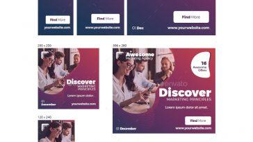 Multipurpose web banners template