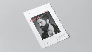 Paper A4 mock-up