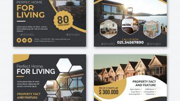 Real estate Instagram post design