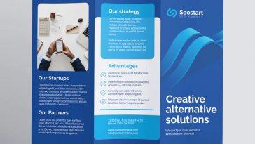 SEO agency brochure template