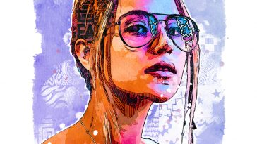 Sketch painting Photoshop action