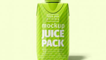 Tetra Pak 200 ml Mockup