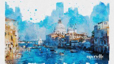 Aquarelle Watercolor Painting Photoshop Effect