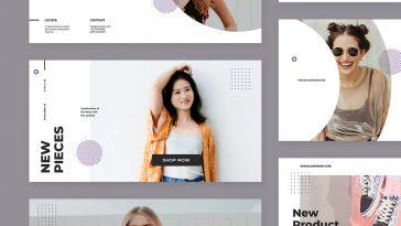 Fashion Facebook Ad Banner Templates