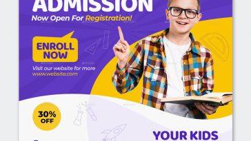 Kids Education Social Media Template