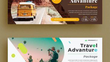 Travel Facebook Cover Templates