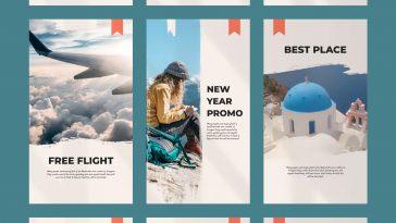 Travel Instagram Stories Templates