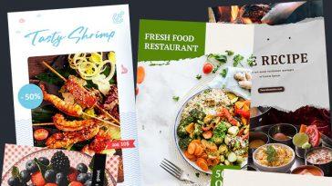 10 Food Instagram Stories Templates