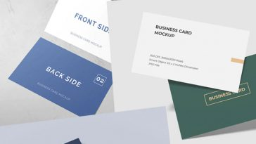 15 Best Business Card Mockups PSD