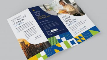 Business Trifold Brochure Design