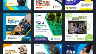 50 Facebook & Instagram Business Banner Templates