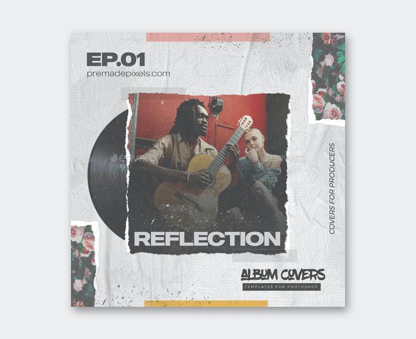 Ambient Album Cover Template