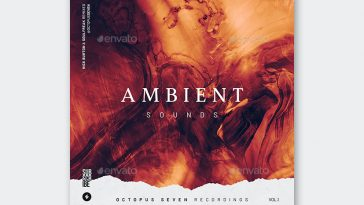 Ambient Sounds Album Cover Template