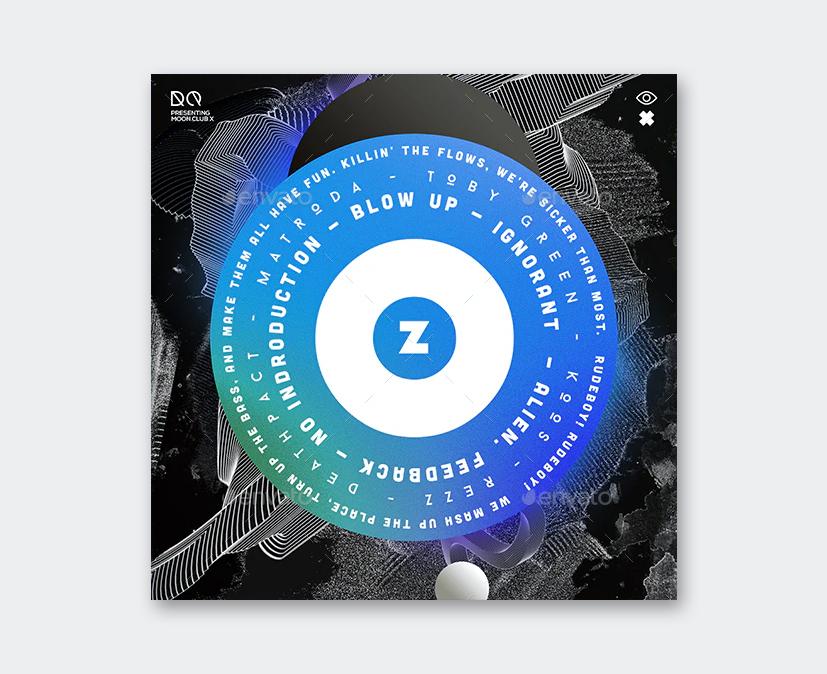 Chillout Album Cover Design