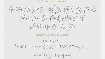 Befront - Stylish Signature Font