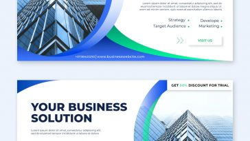 Business Facebook Ad Banner Templates