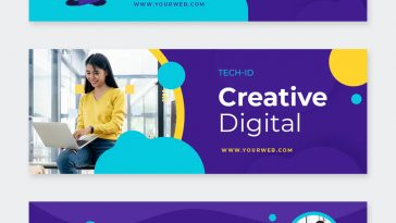 Digital Agency Facebook Cover Template
