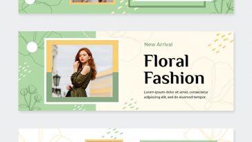 Fashion Facebook Cover Templates PSD