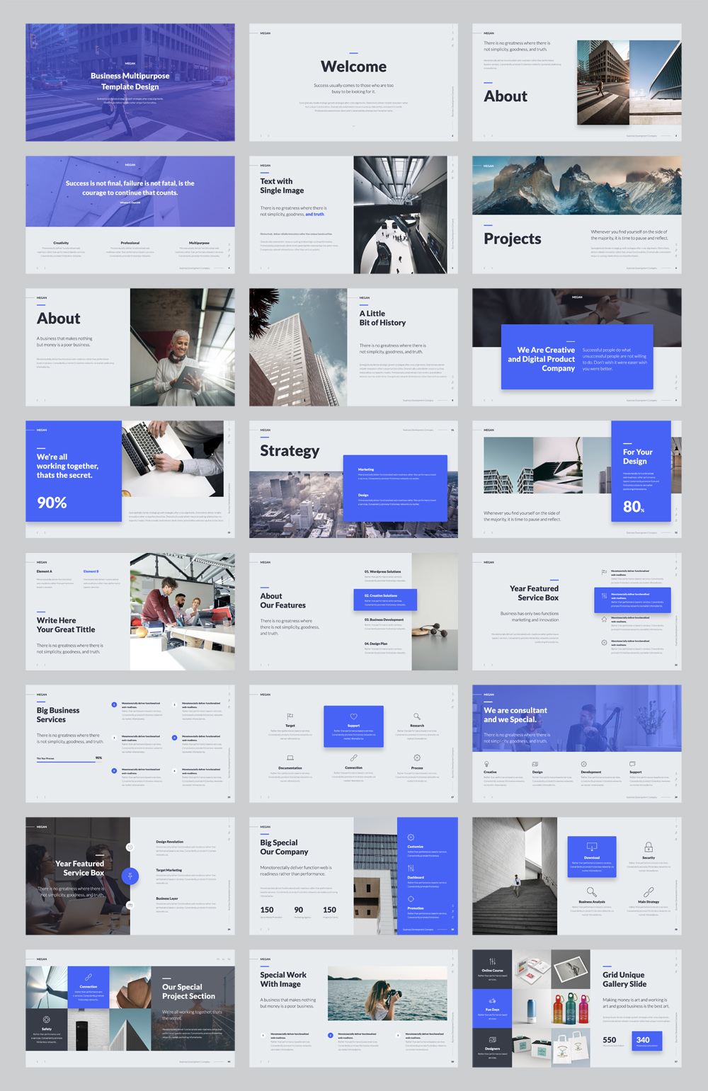 Animated Business PowerPoint Presentation Template