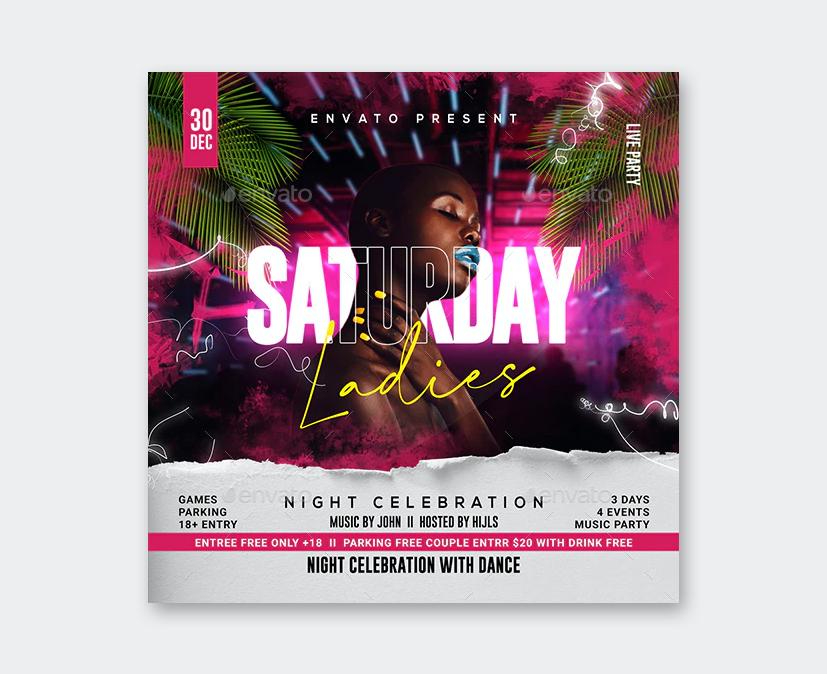 NightClub Party Flyer Template