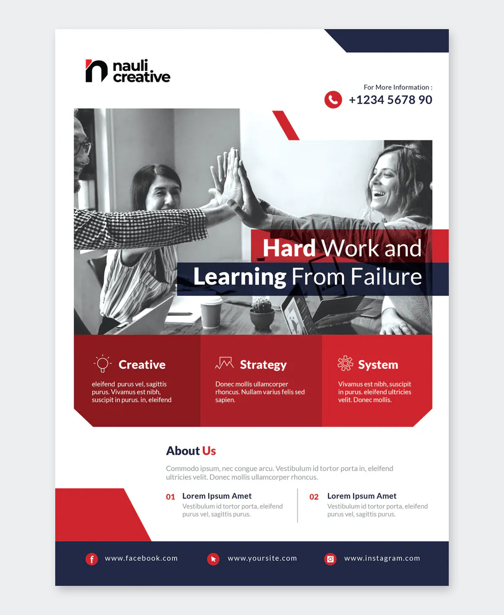 Business Flyer Template Word