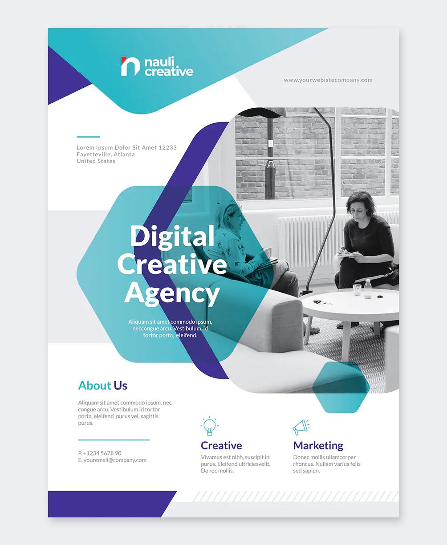 Creative Business Flyer Design MS Word