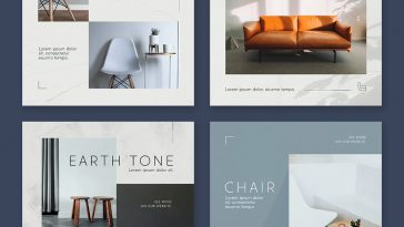 Furniture Instagram Post Templates