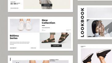 Lookbook Facebook Ad Banner Templates