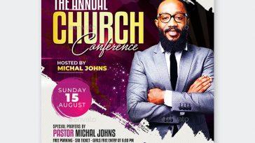 Church Flyer PSD Design