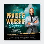 Church Conference Flyer Template PSD