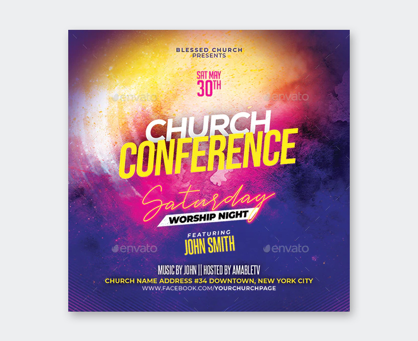 Design Church Conference Flyer