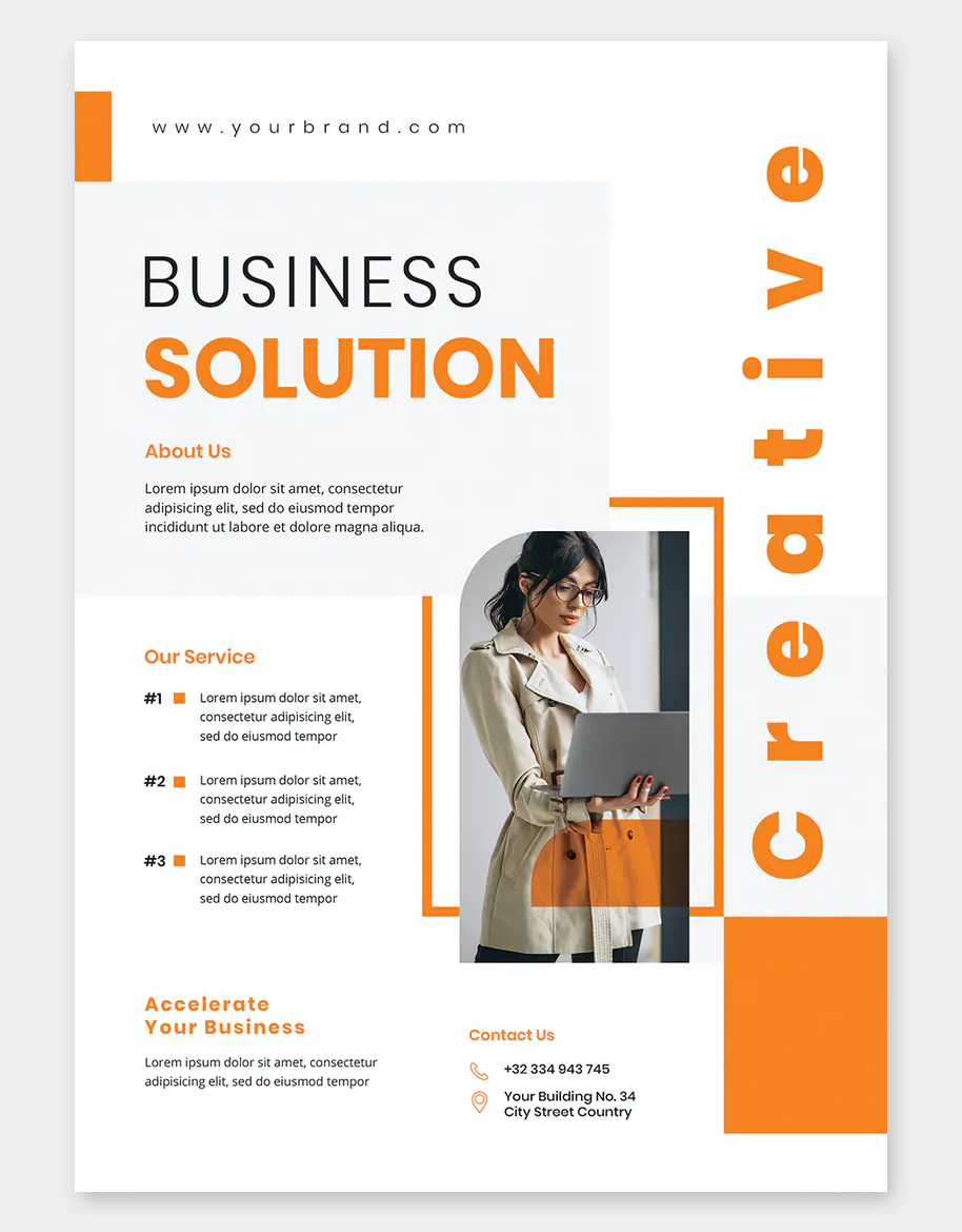 Special Business Flyer Template