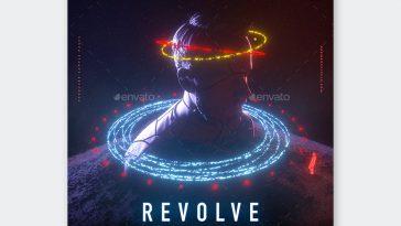 Creative Album Cover Template