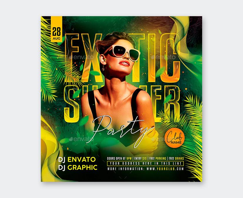 Design Summer Party Flyer