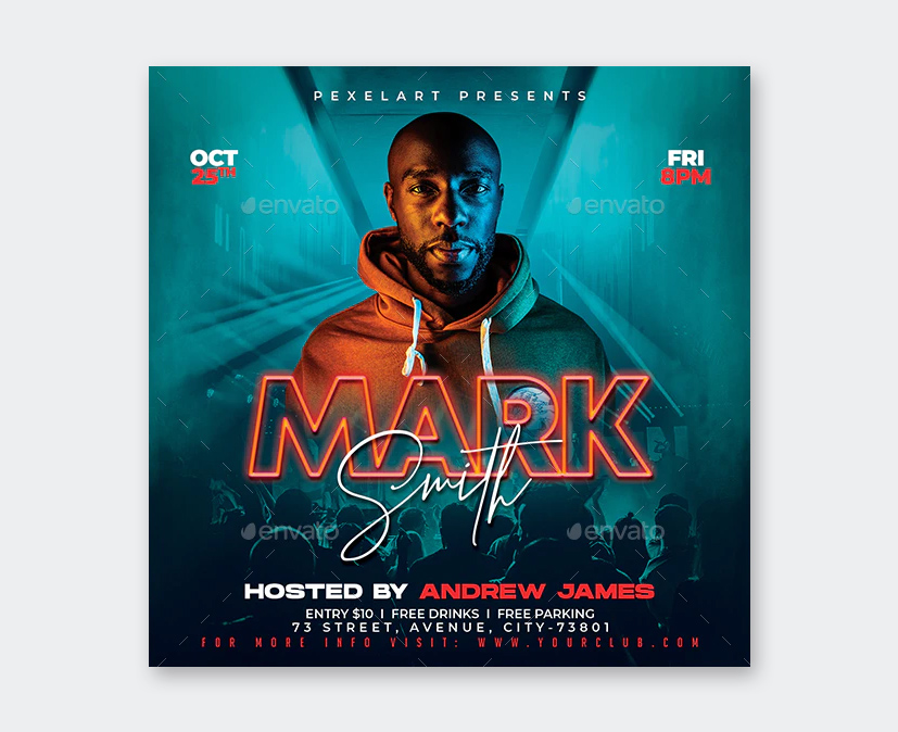 Party DJ Flyer Template