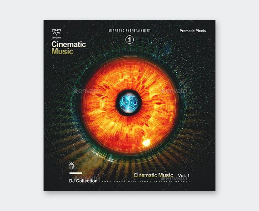 Photoshop Album Cover Template