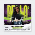 DJ Flyer Template PSD
