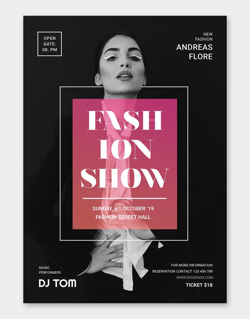 Fashion Promo Flyer Template