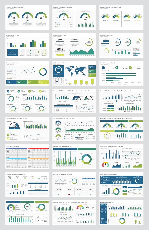 Modern KPI Dashboard PowerPoint Presentation