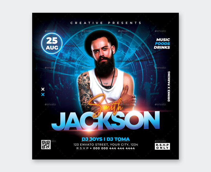 Party DJ Flyer Design