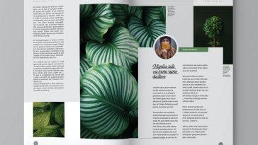 Plant Magazine Template
