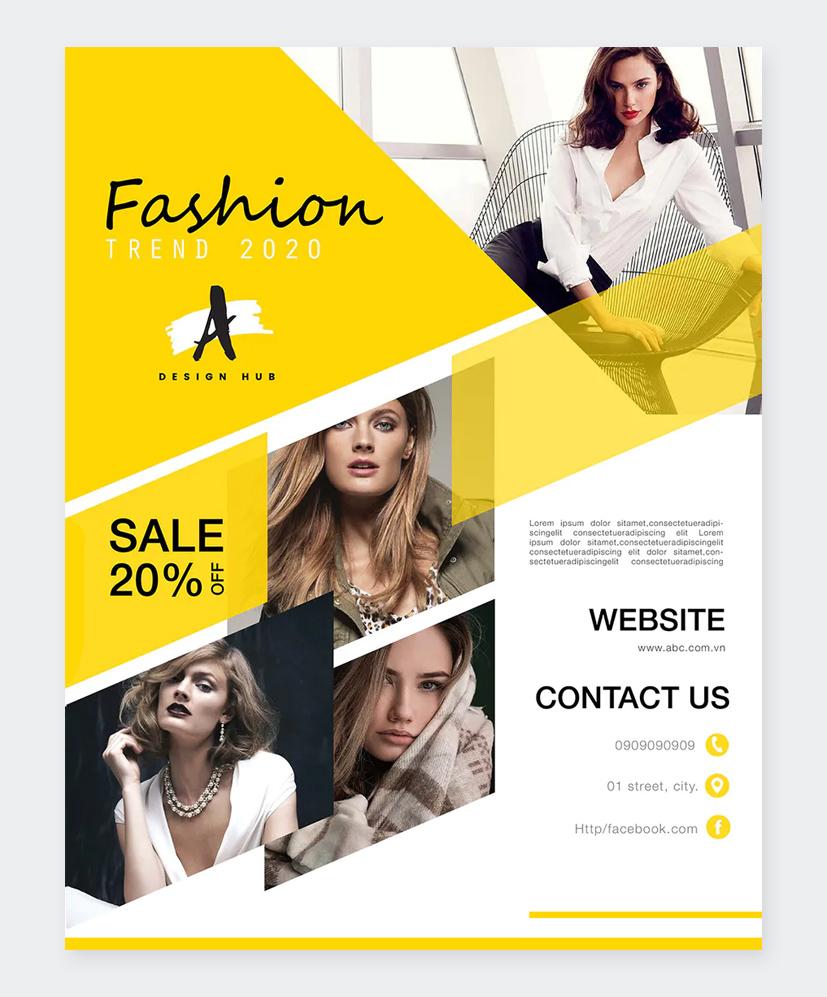 Professional Fashion Flyer Design