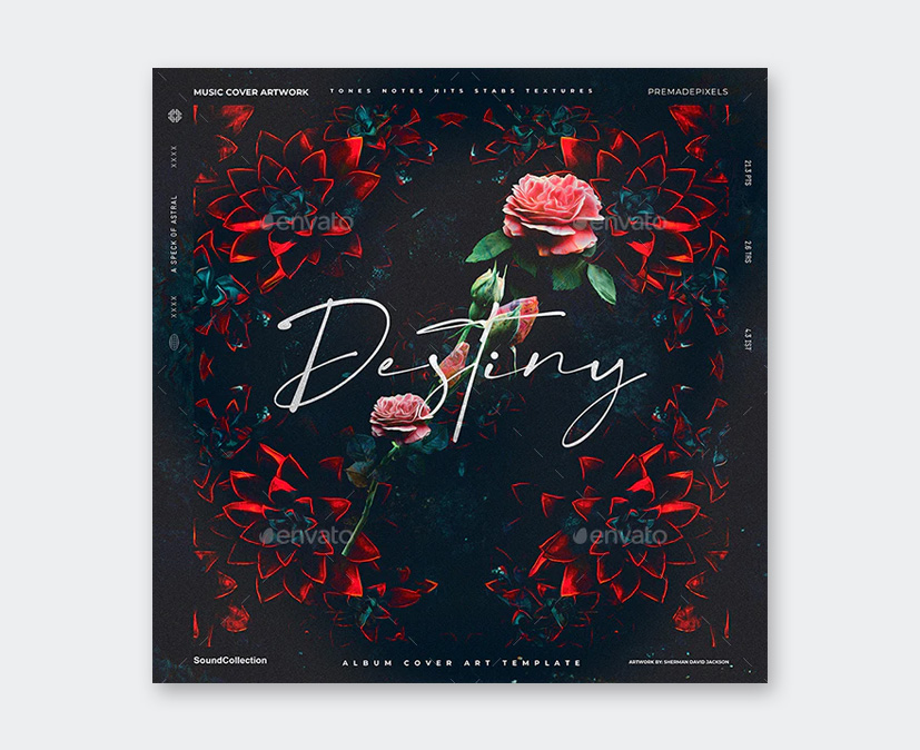 Album Cover Art PSD