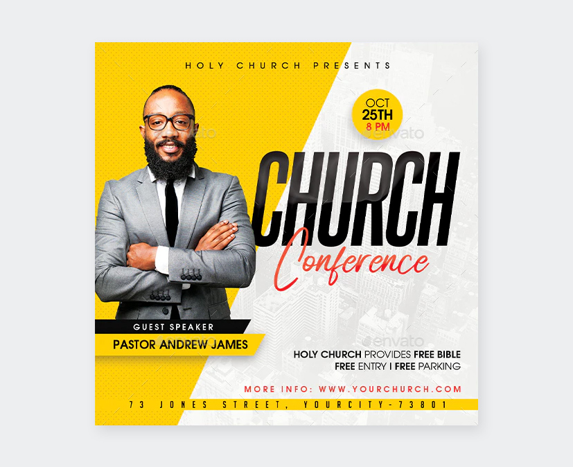 Church Conference Template